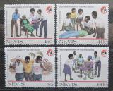 Poštovní známky Nevis 1988 Mezinárodní červený kříž, 125. výročí Mi# 488-91
