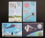 Poštovní známky Sierra Leone 1988 Letectví a kosmonautika Mi# 1122-25
