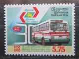 Poštovní známka Srí Lanka 1988 Autobus Mi# 817