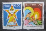 Poštovní známky Srí Lanka 1987 Vánoce Mi# 804-05