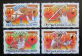 Poštovní známky Uganda 1988 LOH Soul Mi# 587-90