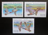 Poštovní známky Rusko 1995 Kachny Mi# 462-64