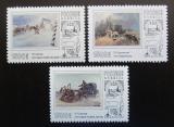 Poštovní známky Rusko 1995 Umění Mi# 502-04 Kat 4.50€