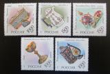 Poštovní známky Rusko 1996 Klenoty z Ermitáže Mi# 535-39