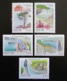 Poštovní známky Rusko 1998 Ruská teritoria Mi# 682-86 Kat 10€