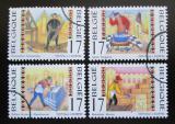 Poštovní známky Belgie 1997 Řemeslníci Mi# 2773-76