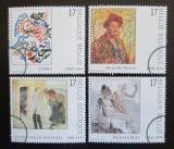 Poštovní známky Belgie 1998 Umění Mi# 2793-96