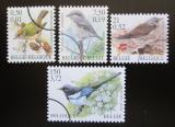 Poštovní známky Belgie 2001 Ptáci Mi# 3035-38 Kat 9€