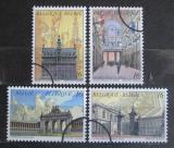 Poštovní známky Belgie 1996 Architektura v Bruselu Mi# 2694-97