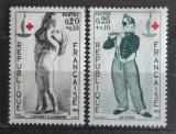 Poštovní známky Francie 1963 Červený kříž Mi# 1454-55