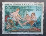 Poštovní známka Francie 1970 Umění, Francois Boucher Mi# 1725