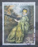 Poštovní známka Francie 1973 Umění, Antoine Watteau Mi# 1846