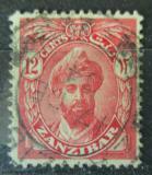 Poštovní známka Zanzibar 1926 Sultán Mi# 172