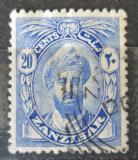 Poštovní známka Zanzibar 1926 Sultán Mi# 173