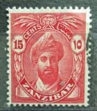 Poštovní známka Zanzibar 1936 Sultán Mi# 179