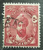 Poštovní známka Zanzibar 1936 Sultán Mi# 184