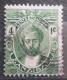 Poštovní známka Zanzibar 1922 Sultán Mi# 147