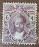 Poštovní známka Zanzibar 1922 Sultán Mi# 149