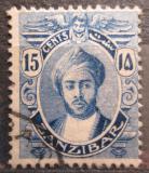 Poštovní známka Zanzibar 1921 Sultán Mi# 153 Kat 13€
