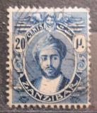Poštovní známka Zanzibar 1922 Sultán Mi# 154