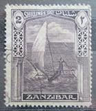 Poštovní známka Zanzibar 1936 Dhau Mi# 186