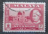 Poštovní známka Britské Malajsko, Selangor 1959 Mešita Mi# 82