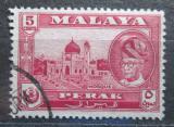 Poštovní známka Britské Malajsko, Perak 1957 Mešita Mi# 106