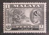 Poštovní známka Britské Malajsko, Perak 1957 Kopra Mi# 103