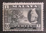 Poštovní známka Britské Malajsko, Perlis 1957 Kopra Mi# 29