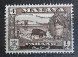 Poštovní známka Britské Malajsko, Pahang 1957 Rýžové pole Mi# 67