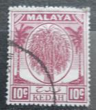 Poštovní známka Britské Malajsko, Kedah 1950 Rýžový otep Mi# 69