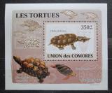 Poštovní známka Komory 2009 Želvy neperf. DELUXE Mi# 2179 B Block