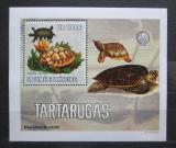 Poštovní známka Svatý Tomáš 2006 Želvy DELUXE Mi# 2765 Block