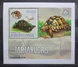 Poštovní známka Svatý Tomáš 2006 Želvy DELUXE Mi# 2766 Block