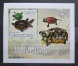 Poštovní známka Svatý Tomáš 2006 Želvy DELUXE Mi# 2767 Block