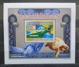 Poštovní známka Guinea 2009 Želvy DELUXE Mi# 6400 Block