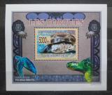 Poštovní známka Guinea 2009 Želvy DELUXE Mi# 6402 Block