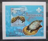 Poštovní známka Guinea-Bissau 2005 Želvy DELUXE Mi# 3224 Block