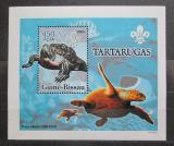 Poštovní známka Guinea-Bissau 2005 Želvy DELUXE Mi# 3225 Block