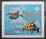 Poštovní známka Guinea-Bissau 2005 Želvy DELUXE Mi# 3226 Block