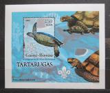 Poštovní známka Guinea-Bissau 2005 Želvy DELUXE Mi# 3228 Block