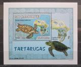 Poštovní známka Mosambik 2007 Želvy DELUXE Mi# 2977 Block
