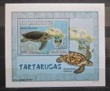 Poštovní známka Mosambik 2007 Želvy DELUXE Mi# 2978 Block