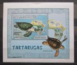 Poštovní známka Mosambik 2007 Želvy DELUXE Mi# 2979 Block