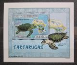 Poštovní známka Mosambik 2007 Želvy DELUXE Mi# 2980 Block