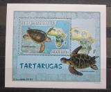 Poštovní známka Mosambik 2007 Želvy DELUXE Mi# 2981 Block