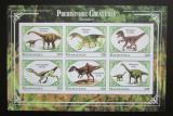 Poštovní známky Mauritánie 2018 Dinosauři neperf. Mi# N/N