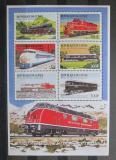 Poštovní známky Guinea 1999 Lokomotivy Mi# 2500-05 Kat 9€