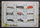 Poštovní známky Sierra Leone 1992 Lokomotivy Mi# 1867-75 Kat 13€