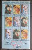 Poštovní známky Sierra Leone 1990 Královna Matka Mi# 1475-77 Bogen Kat 15€